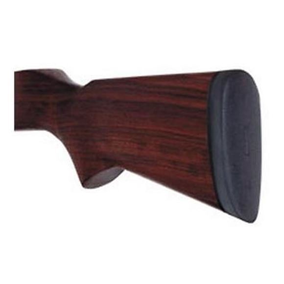 "Picture of Pachmayr Field Recoil Pads, D752B Decelerator Old English - Medium, Skeet Shape, Leather Texture, 5.50""x1.80""x0.60"", Black"