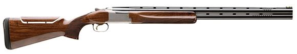 "Picture of Browning Citori 725 Skeet w/Adjustable Comb Over/Under Shotgun - 12Ga, 3"", 28"", Vented Rib, Ported, Polished Blued, Silver Nitride Finish Low-Profile Steel Receiver, Gloss Oil Grade III/IV Black Walnut Stock w/Adjustable Comb, HiViz Pro-Comp Front & Ivor"