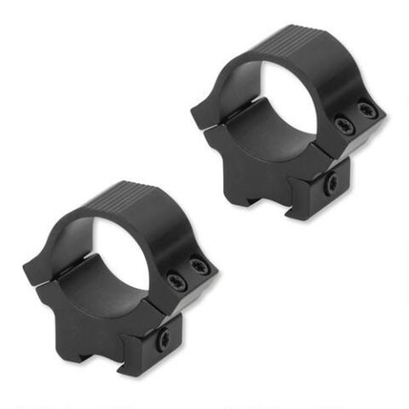"Picture of Sun Optics USA Mounting Systems, .22 Sport Rings - 1"", Low, Satin Black, 3/8"" Dovetail"