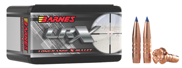 "Picture of Barnes LRX (Long-Range X) Hunting Rifle Bullets - 7mm Caliber (.284""), 168Gr, LRX BT, 50ct Box, (1:8"" Twist of Faster)"
