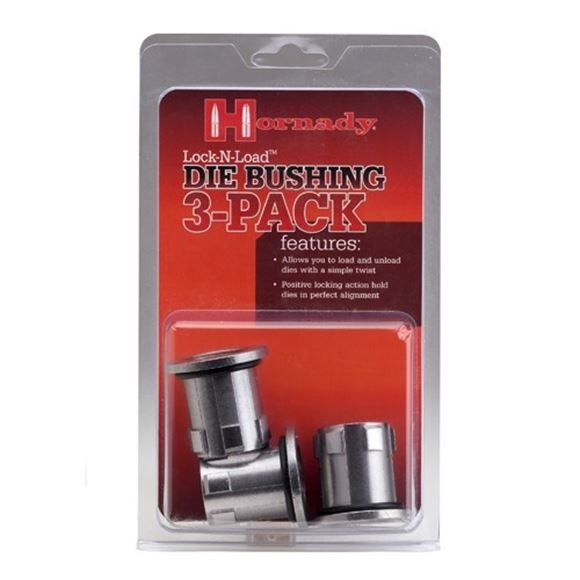 Picture of Hornady Metallic Reloading, Press Accessories - Lock-N-Load Die Bushing, 3-Pack