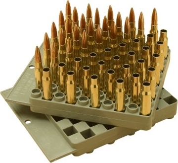 Picture of MTM Case-Gard Reloading, Compact Universal Loading Tray - Gray, .17 thru .458, 2-Sided