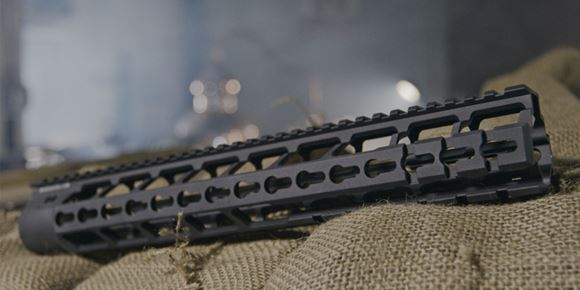 """Picture of Primary Weapons Systems (PWS)  Bootleg 13.4"""" - Handguards, PicMod, 13.4"""" Length, Mil Spec Hard Anodizing, Black"""