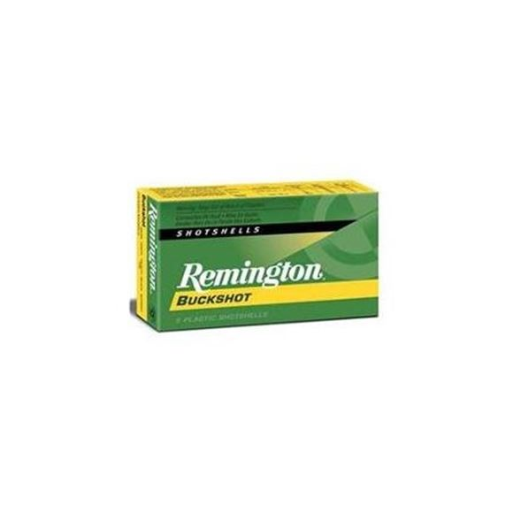 "Picture of Remington Express Buckshot Load Shotgun Ammo - 20Ga, 2-3/4"", 2-3/4 DE, #3 Buck, 20 Pellets, Buffered, 250rd Case, 1200fps"