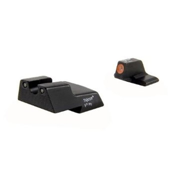 Picture of Trijicon Iron Sights, Trijicon HD Night Sights - H&K, HK111O, H&K 45 HD Night Sight Set, Orange Front Outline, Fits H&K 45/45 Tactical Models