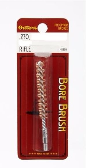 Picture of Outers Phosphor Bronze Rifle Bore Brush - 270 Caliber