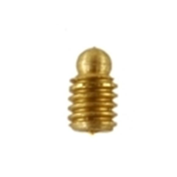 "Picture of Williams Beads/Taps/Drills, Gold or Silver Shotgun Sights - No. 1, 6-48 Thread, 0.175"" Bead Diameter, 1/8"" Shank Length, Gold"