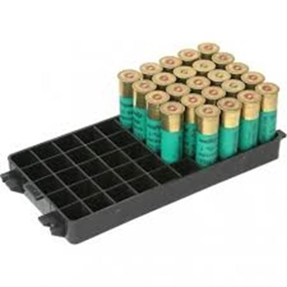 Picture of MTM Case-Gard Shotshell Boxes & Cases, Shotshell Trays - 12Ga, 50rds, Black