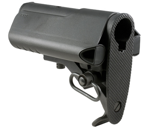 Picture of Mission First Tactical Rifle Stocks - EvoIV Battle Stock Attachment, Black