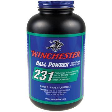 Picture of Winchester Ball Pistol Powders - 231 Ball Powder, Smokeless Propellant , 1lb