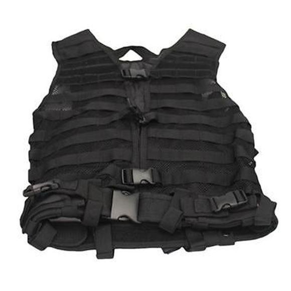 Picture of NcSTAR Performance Gear, Vest & Chest Rigs, Visms - Zombie Dead Ops Delta Kit, w/Vest & Pouches, Black