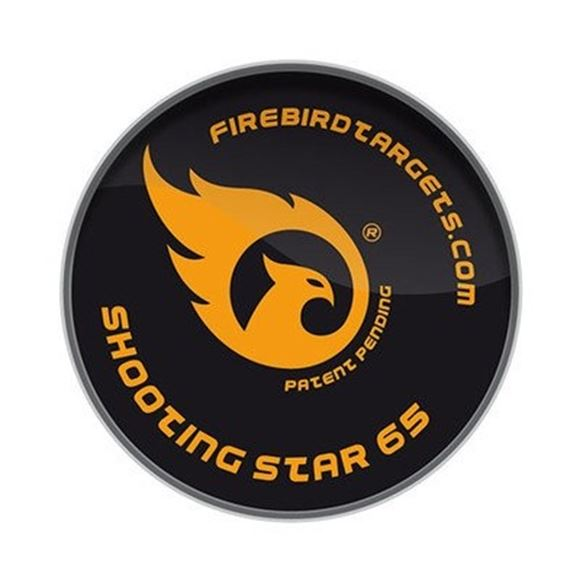 Picture of Firebird Exploding Targets, For Clay Pigeon Shooting - Shooting Star 65mm Reactive Targets, 10-Pack