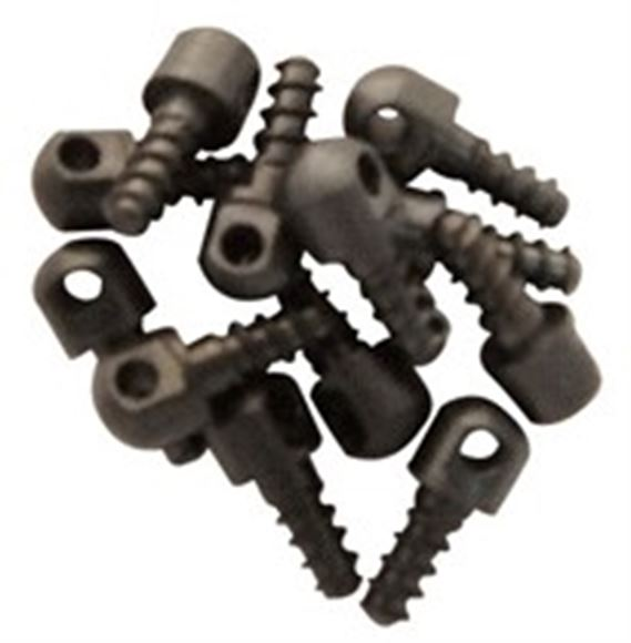 "Picture of GrovTec GT GrovTec Parts, GT Bulk Sling Swivel Studs - Wood Screw Swivel Studs, 1/2"", w/Spacer, Each"
