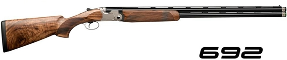 "Picture of Beretta 692 Sporting Over/Under Shotgun - 12Ga, 3"", 30"", Steelium, Blued, Oiled Selected Walnut Stock, OptimaChoke HP Extended (C,IC,M,IM,F)"