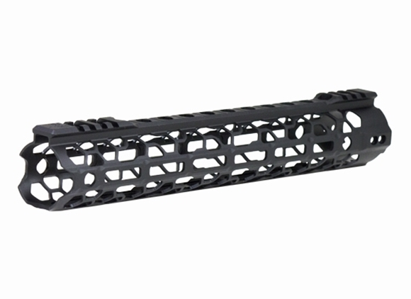 """Picture of Odin Works, AR Handguard - O2 Lite Forend, 12.5"""", M-LOK, Includes - 1x Forend, 1x Barrel Nut, 1x Forend Adapter, 1x .5oz Vibra-Tire, 1x Accessory Rail"""