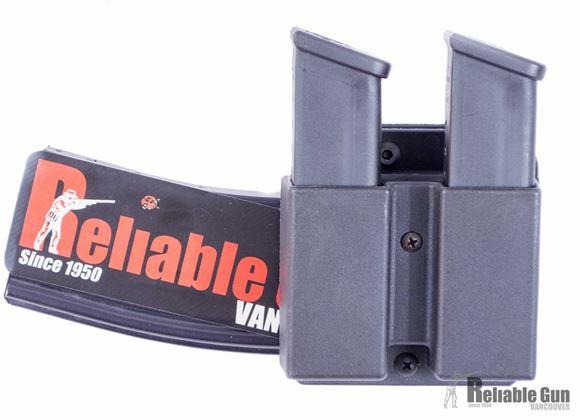 Picture of Blade-Tech Revolution Combo Rifle-Pistol Mag Pouches - Revolution Combo AR Mag + Double Pistol Mag, Tek-Lok, DMP Glock 9/40, AR Mag Horizontal Cant, Black, Left Hand