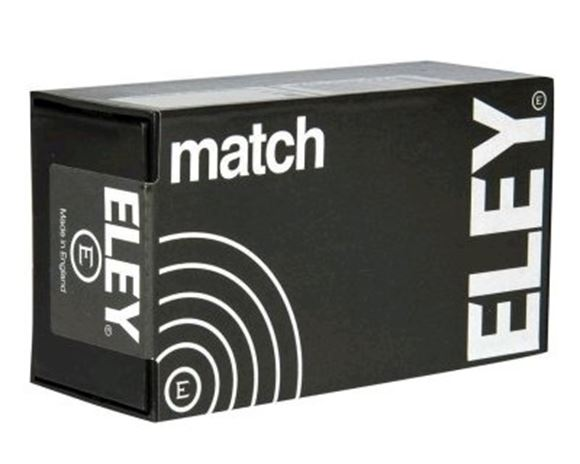 Picture of ELEY Rimfire Ammo - Match, 22 LR, 40Gr, Flat Nose, 1060ft/s, 50rds Box
