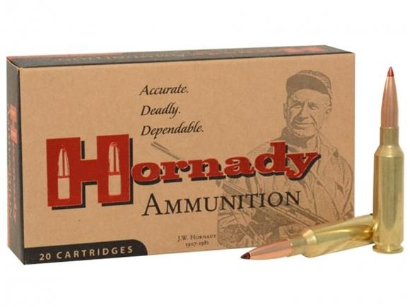 Picture of Hornady Match Rifle Ammo - 6.5 Creedmoor, 140Gr, ELD Match, 200rds Case