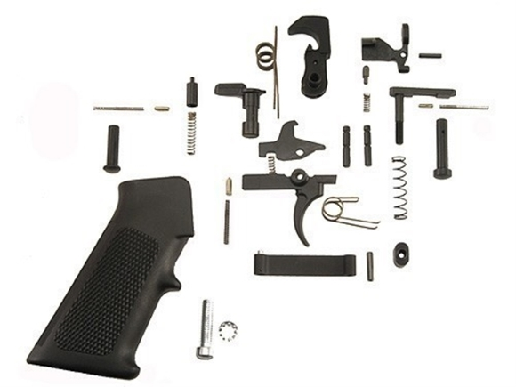 Picture of DPMS Panther Arms AR Platform Replacement Parts, Lower Receiver Parts - AR15 Lower Receiver Parts Kit, w/ Trigger
