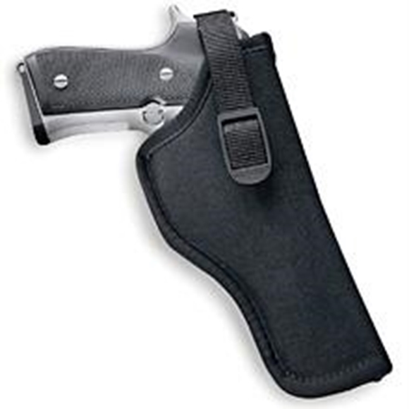 """Picture of Uncle Mike's Holsters, Sidekick Holsters - Sidekick Hip Holster, Size 5, 4-1/2"""" to 5"""" Large Autos, Right Hand, Black"""