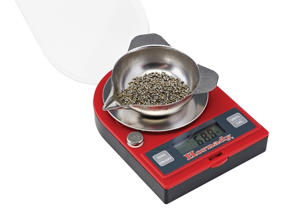 Picture of Hornady Metallic Reloading, Tools & Gauges, Scales & Accessories - G2-1500 Grain Electronic Scale, 1500Gr Capacity, 2xAAA