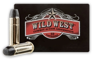 Picture of Sellier & Bellot Wild West Handgun Ammo - 38 Special, 158gr, LFN, 50rds box