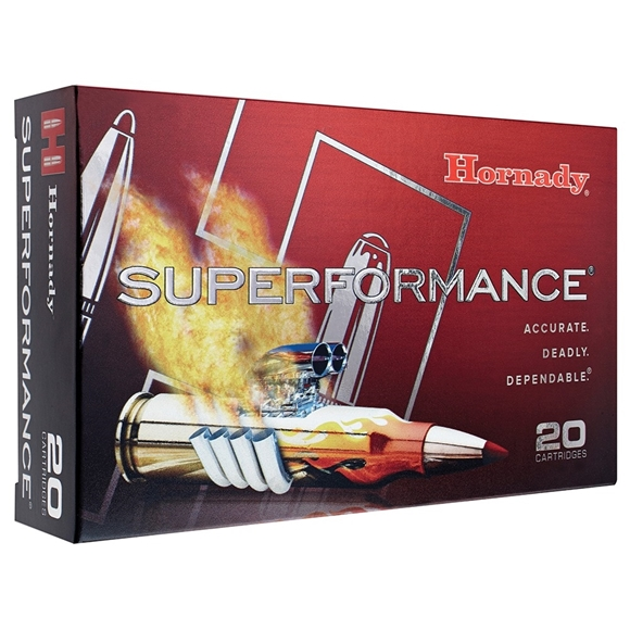 Picture of Hornady Superformance Rifle Ammo - 300 Win Mag, 180Gr, GMX Superformance, 20rds Box
