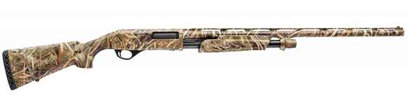 "Picture of Stoeger P3500 Pump Action Shotgun - 12ga, 3-1/2"", 28"", Max 5 Camo, Synthetic Stock, Red-bar Front Sight"