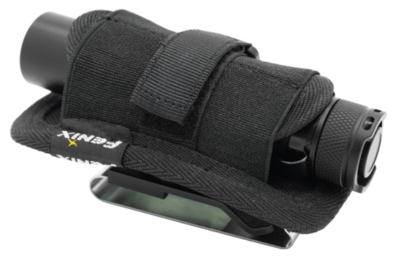 Picture of Fenix Flashlight Belt Clip - AB02, Flashlight Belt Clip, Black