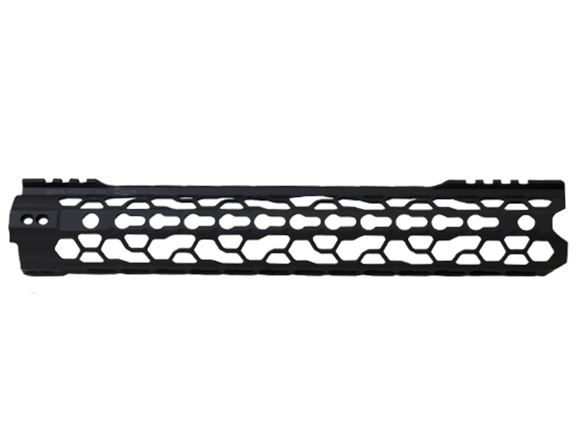 """Picture of Odin Works, AR Handguard - O2 Lite Forend, 12.5"""", Key Mod, Includes - 1x Forend, 1x Barrel Nut, 1x Forend Adapter, 1x .5oz Vibra-Tire, 1x Accessory Rail"""