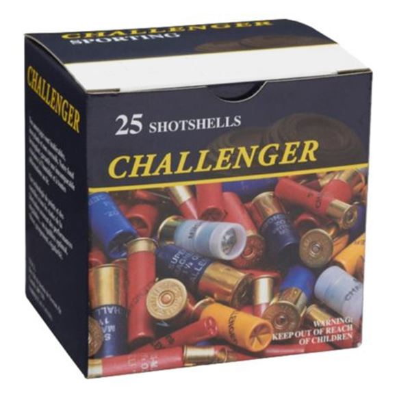 "Picture of Challenger Game Loads Shotgun Ammo - 12 Gauge, 2-3/4"", 1-1/8z, 3-1/4dr, #5, 25rds Box"