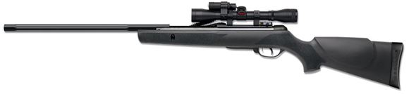 Picture of Gamo Varmint Air Gun Single Shot Break Action Air Rifle - .177, 490fps, All Weather Moulded Synthetic Stock, Monte Carlo Cheek Pad, 4x32mm Scope