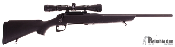"Picture of Used Remington 770 Youth Bolt Action Rifle w/3-9x 40 Scope - 243 Win, 20"", Matte Blue, Black Synthetic, 1 Magazine  Good Condition"