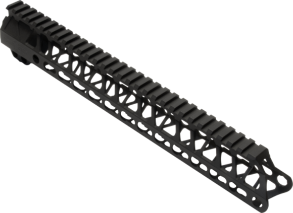 "Picture of Timber Creek Outdoors AR15 Parts - Enforcer AR Free Float Handguard, 13"", M-Lok, Full Length Mil-Spec 1913 Rail, Black"