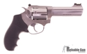 "Picture of Used Ruger SP101 DA/SA Revolver - 357 Mag, 4.20"", Satin Stainless, Stainless Steel, Black Rubber Hogue Grips, 5rds, Fiber Optic Front & Adjustable Rear Sights, With 5 Star Aluminum Loading Block and 10 HKS Speed Loaders, Original Box and Grip, Very Good"