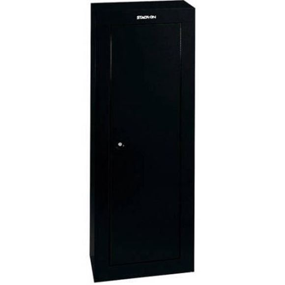Picture of Stack-On Secure Storage - 8 Gun Security Cabinet, 3-Point Locking System, Molded Barrel Rests, Welded Steel Construction