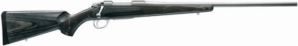 """Picture of Sako 85 Hunter Laminated Stainless (Grey Wolf) Bolt Action Rifle - 338 Win Mag, 24-3/8"""", Stainless Steel, Cold Hammer Forged, Light Hunting Contour, Grey Laminated Matte Oil Walnut Stock w/Palm Swell, 4rds, 2-4lb Adjustable Trigger"""