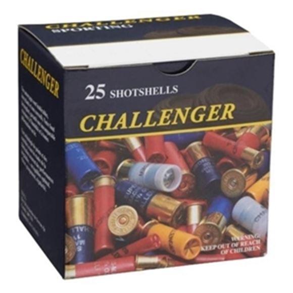 "Picture of Challenger Steel Magnum Shotgun Ammo, High Velocity Steel - 12Ga, 2-3/4"", 1-1/8oz, BBB, 1450fps, 25rds Box"