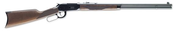 """Picture of Winchester Model 94 Sporter Lever Action Rifle - 30-30 Win, 24"""", Sporter Contour, Brushed Polish Blued, Satin Grade I Black Walnut Stock, 8rds`"""