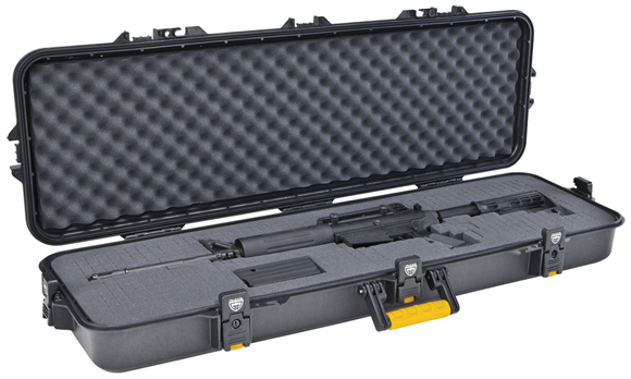"""Picture of Plano All Weather Rifle Case - Pluck Foam, Interior 43"""" x 13"""" x 5"""", Black"""