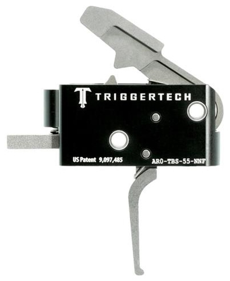 Picture of Trigger Tech, AR15 Trigger - Competitive Frictionless Trigger, Flat, Short Two Stage, Fixed 3.5lbs, Small Pin