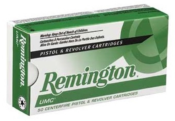 Picture of Remington Target Pistol Ammunition - 38 Special, 158gr, Lead Round Nose, 50rds Box