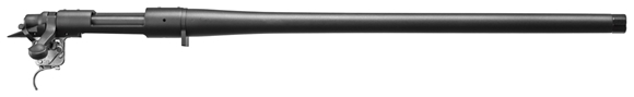 "Picture of Remington Barreled Rifle Actions, Model 700 - 308 Win, 20"", 1/10 Twist,  Heavy Contour, Threaded 5/8-24, Black Oxide Metal Finish, X-Mark Pro Adjustable Trigger"