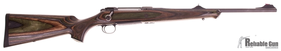 Picture of Pre Owned Never Fired, Sauer 101 Scandic Bolt Action Rifle - 9.3x62mm, 510mm, Laminated ERGO MAX Stock, Adjustable High-Contrast Sights, 2 lb Trigger