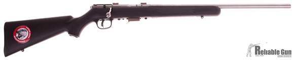 "Picture of Used Savage 93 FVSS Bolt Action Rifle - 22 WMR, 21"" Stainless Heavy Barrel, Accutrigger, 5rd Mag, Salesman Sample"