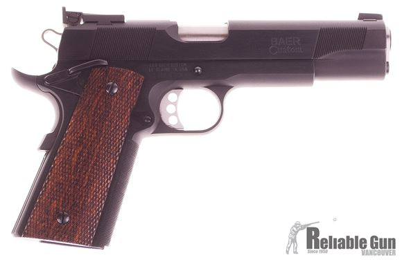 Picture of Used Like New, Les Baer Premier II, 45 Acp, 5'', 1911 Pistol, Blued Frame And Slide, Deluxe Checkered Grips