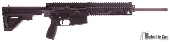"""Picture of Used HK MR 308 Semi-Auto 308 Win, 17"""" Barrel, With One 5/20rd Mag & Hard Case, Excellent Condition"""