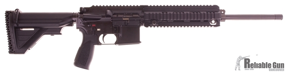 """Picture of Used HK MR 223 Semi-Auto 223, 16"""" Barrel, With One 10rd Mag & Hard Case, Excellent Condition"""