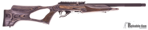Picture of Used Tactical Solutions X-Ring Semi-Auto 22LR, Black Finish, Laminate Thumbhole Stock, One Mag & Original Case, As New Condition