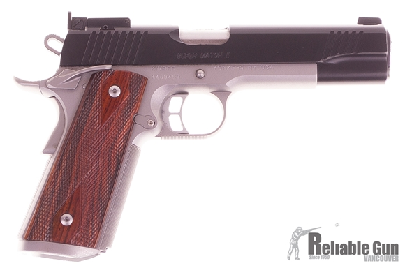 Picture of Used Kimber Super Match II Semi-Auto 45 ACP, With 3 Mags & Original Box, Excellent Condition